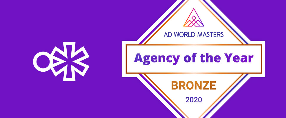 Ad World Masters 2021, Agency of the Year: nuestro primer logro del año